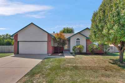 Andover KS Single Family Home For Sale: $185,000