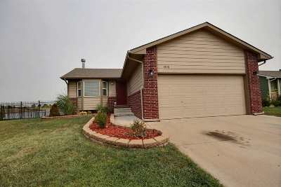 Haysville Single Family Home For Sale: 1878 W Saddle Brooke St