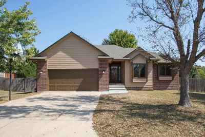 Andover KS Single Family Home For Sale: $189,900