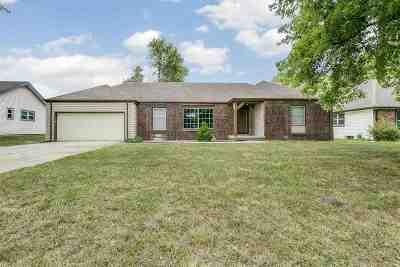 Goddard KS Single Family Home For Sale: $165,000