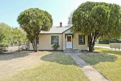 Wichita KS Single Family Home For Sale: $0
