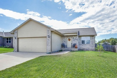 Andover KS Single Family Home For Sale: $165,000