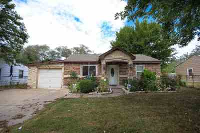 Wichita KS Single Family Home For Sale: $45,000