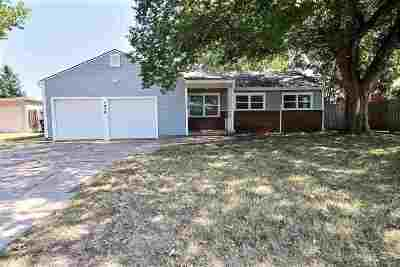 Wichita KS Single Family Home For Sale: $119,900