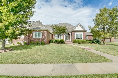 Wichita KS Single Family Home For Sale: $749,000