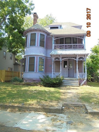 Wichita KS Single Family Home For Sale: $52,500