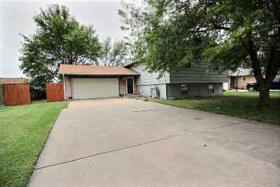 Goddard KS Single Family Home For Sale: $133,500