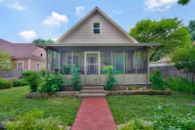 Wichita Single Family Home For Sale: 1121 N Lewellen St