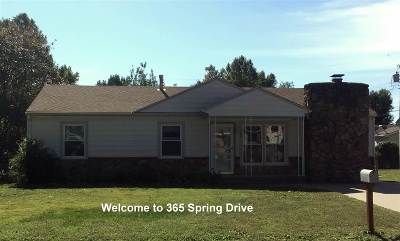 Haysville Single Family Home For Sale: 365 Spring Drive