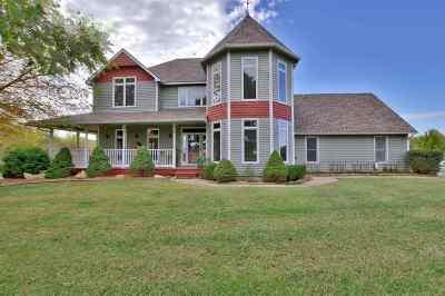 Mulvane Single Family Home Contingent: 1545 E Donaldson Rd