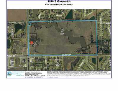 Wichita Residential Lots & Land For Sale: 1510 S Greenwich Rd