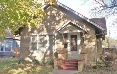 Winfield Single Family Home For Sale: 1314 Fuller St