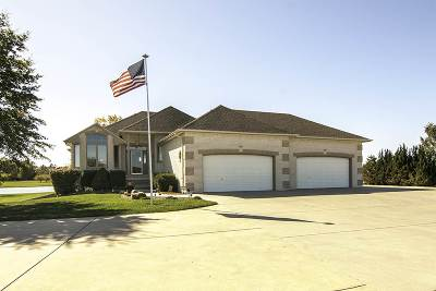 Wichita Single Family Home For Sale: 11805 E Calais Rd