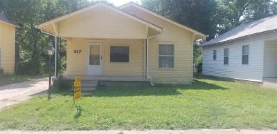 Arkansas City Single Family Home For Sale: 317 N 5th St