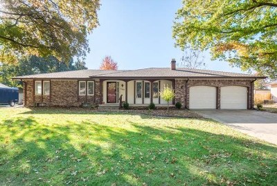 Derby Single Family Home For Sale: 1107 E Hackberry Rd