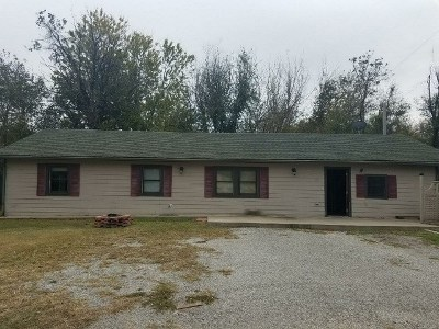 Arkansas City KS Single Family Home For Sale: $73,900