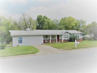 Arkansas City KS Single Family Home For Sale: $74,900
