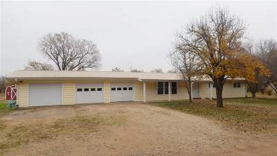 Winfield KS Single Family Home For Sale: $115,000