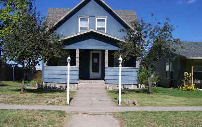 Single Family Home For Sale: 314 W Webster