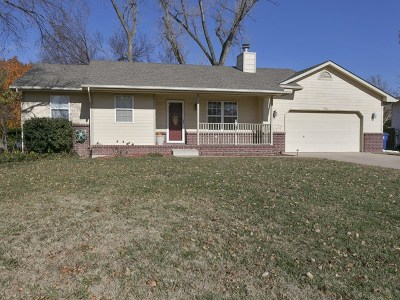 Derby Single Family Home For Sale: 1206 S Gasaway Drive