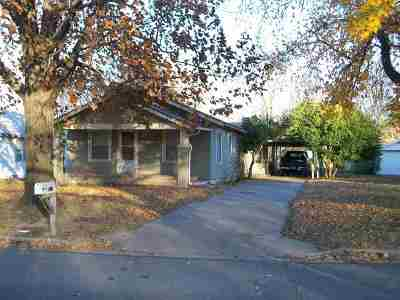 Arkansas City KS Single Family Home For Sale: $47,500
