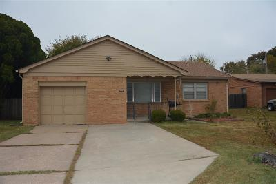 Wichita Single Family Home For Sale: 3608 E Osie St