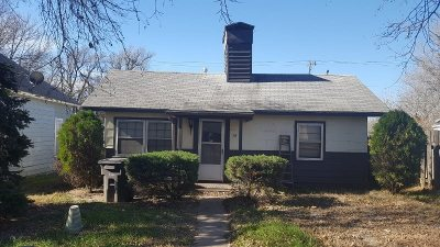 Arkansas City KS Single Family Home For Sale: $22,000