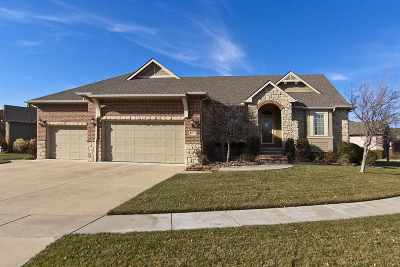 Derby Single Family Home For Sale: 907 N Beau Jardin