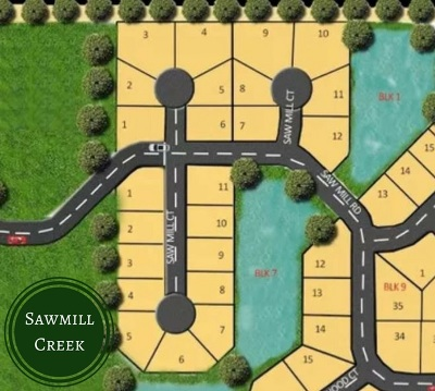 Wichita Residential Lots & Land For Sale: Lot 8 Block 1 Sawmill Creek Add.