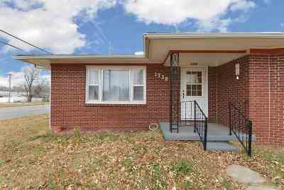 Arkansas City KS Single Family Home For Sale: $79,900