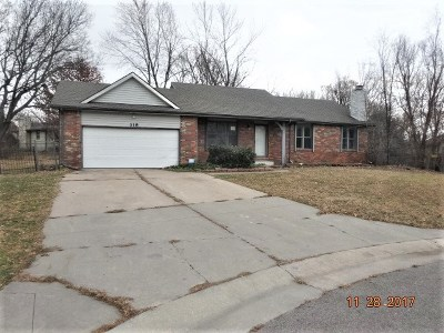 Andover KS Single Family Home For Sale: $99,000
