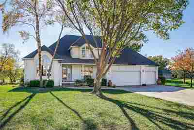 Wichita Single Family Home For Sale: 7707 E Champions Cir
