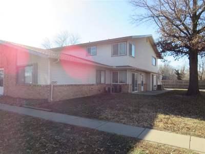 Wichita KS Condo/Townhouse For Sale: $45,000