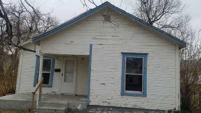 Wichita KS Single Family Home For Sale: $12,900