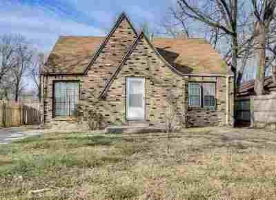 Wichita KS Single Family Home For Sale: $60,000