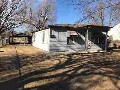 Wichita KS Single Family Home For Sale: $41,900