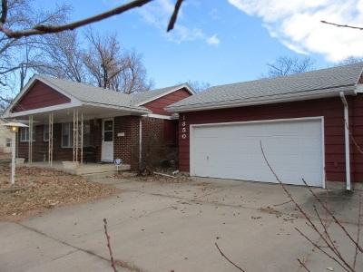 Wichita KS Single Family Home For Sale: $115,000