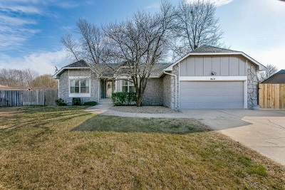 Wichita Single Family Home For Sale: 1612 N Skyview St