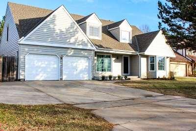 Wichita Single Family Home Contingent: 2554 N Winstead Cir