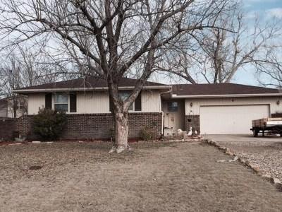 Goddard KS Single Family Home For Sale: $129,500