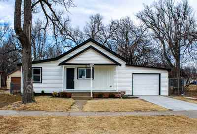 Hutchinson Single Family Home For Sale: 1214 E 6th Ave