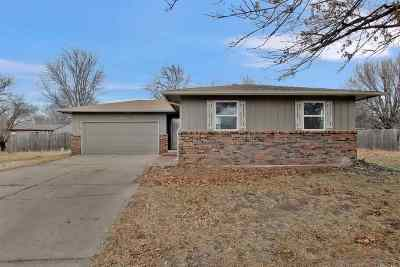 Mulvane Single Family Home For Sale: 1421 N Shelly