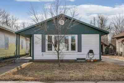 Hutchinson Single Family Home For Sale: 615 E 8th Ave