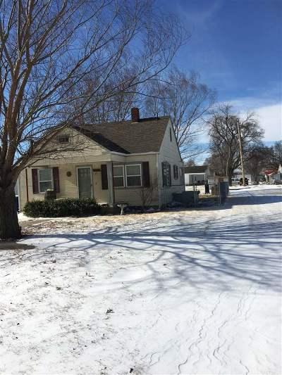 Burrton Single Family Home For Sale: 315 N Harvey Ave