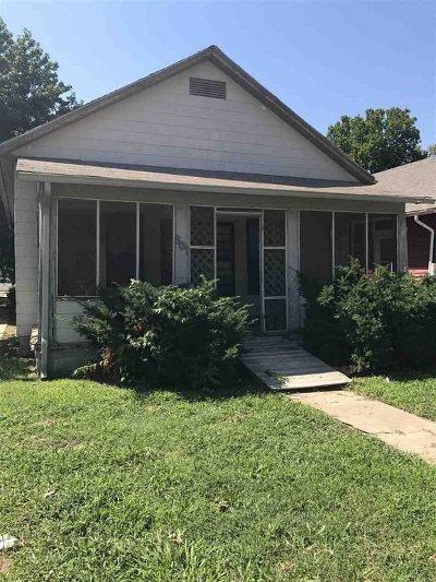 Arkansas City KS Single Family Home For Sale: $29,000