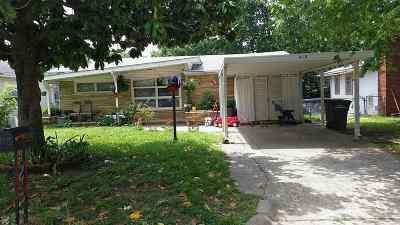 Arkansas City KS Single Family Home For Sale: $50,000