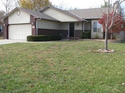 Mulvane Single Family Home For Sale: 1633 N Prairie Run Circle