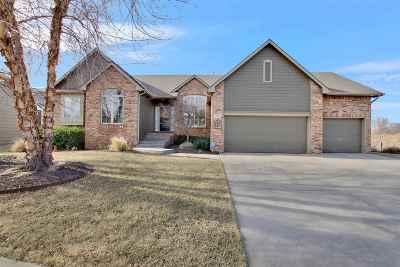 Wichita Single Family Home Contingent: 3231 N Brush Creek St