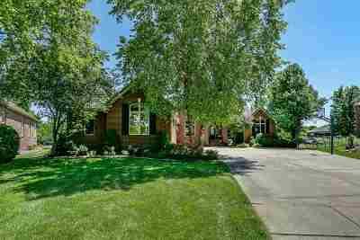 Wichita Single Family Home For Sale: 2502 N Tee Time Cir
