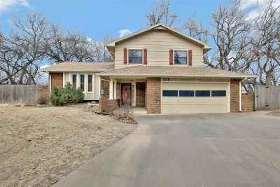 Derby Single Family Home For Sale: 1218 E Oakwood Ct